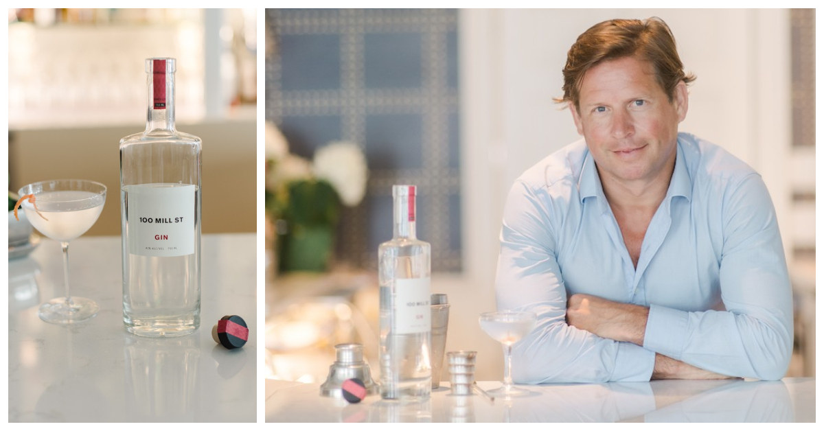 100 Mill Street Gin and its creator, Peter Connor – Haskells