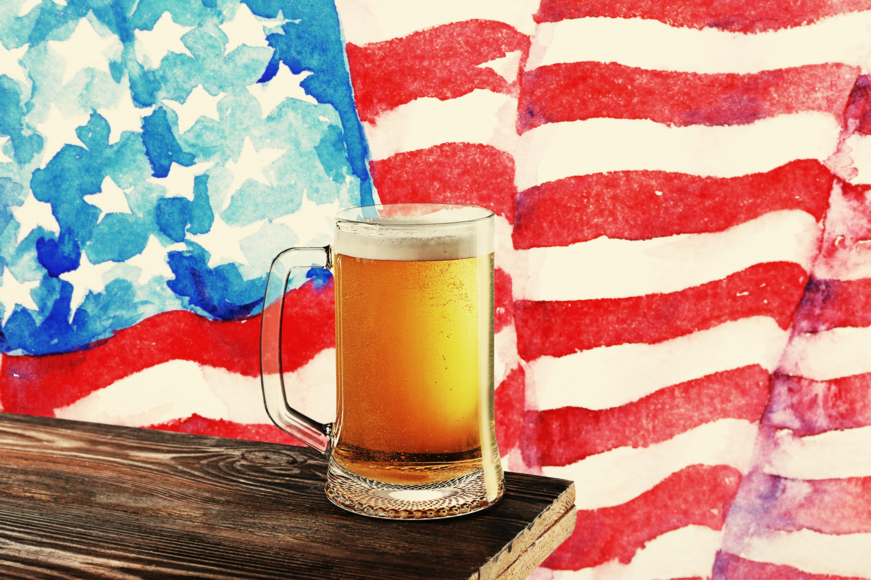 patriotic beer