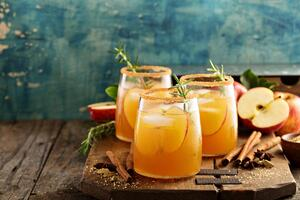 spiked apple ciders