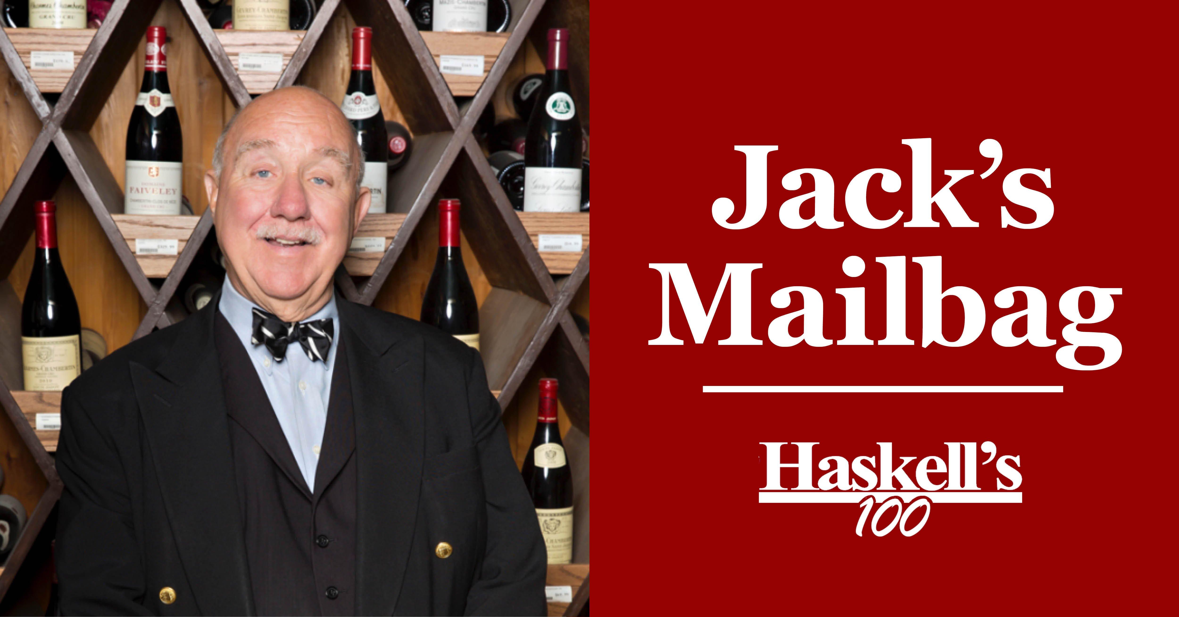 Jacks Mailbag