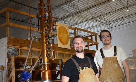 Loon Liquor partners Simeon Rossi Mark Schiller